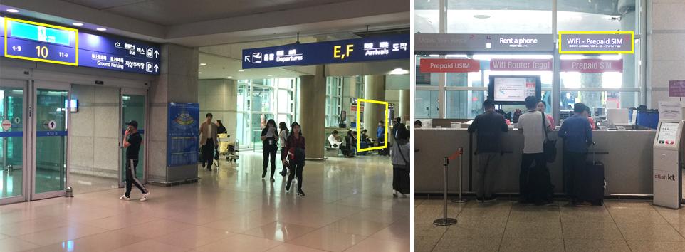 incheon airport(GATE 10)