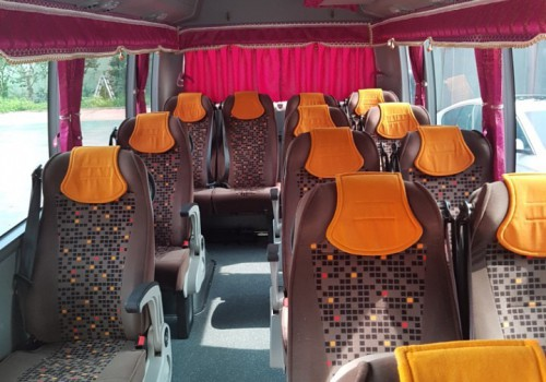 Micro Bus County 25 seat_inside
